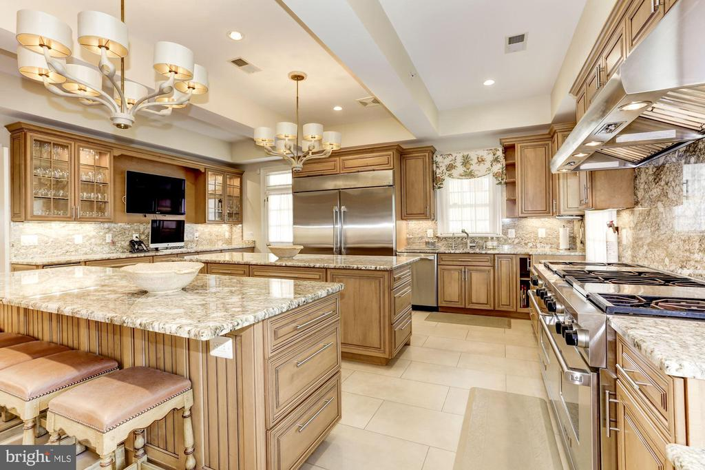 Newly Created Chef's Dream Kitchen - 9606 FALLS, POTOMAC