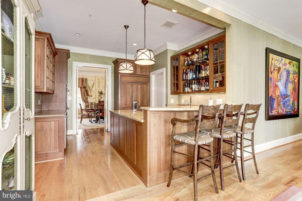 Re configure original Kitchen Currently Guests Bar - 9606 FALLS, POTOMAC