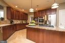 Granite countertops - 19976 AUGUSTA VILLAGE PL, ASHBURN