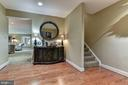 Foyer Leads to WO LL Family Room - 106 FALCON RIDGE RD, GREAT FALLS