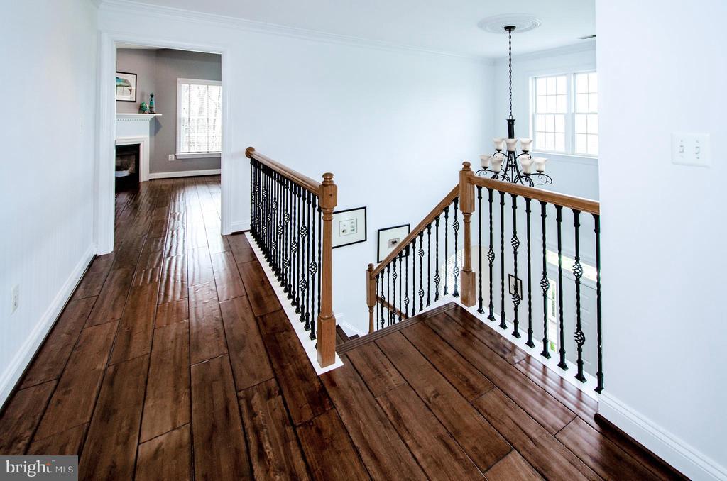 Wood Floors for all Upper Bedrooms- - 14974 MERRITT FARM LN, LEESBURG