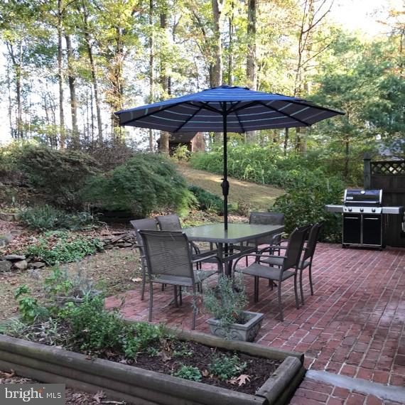 Rear Patio - Brick - Beautifully Landscaped - 4345 BANBURY DR, GAINESVILLE