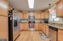Contemporary full Kitchen - 10179 LAWRENCE LN, LOCUST GROVE