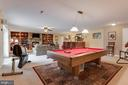 Pool Table Conveys & perfectly fits the Fam Rm - 10179 LAWRENCE LN, LOCUST GROVE
