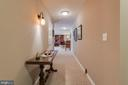 Wide Hallway to Family Room - 10179 LAWRENCE LN, LOCUST GROVE