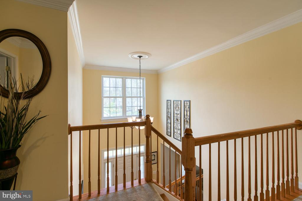Open Staircase, Hardwood Stairs - 3412 WOOLFENDEN CT, TRIANGLE