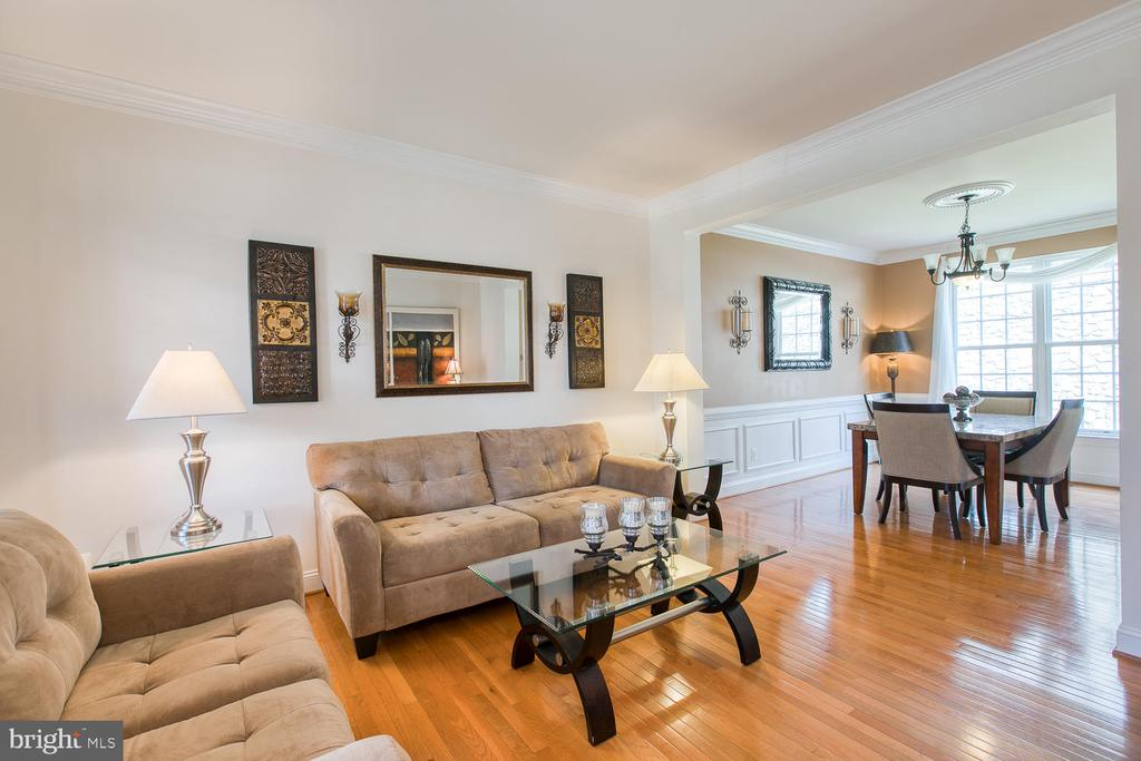 Formal living/sitting room - 3412 WOOLFENDEN CT, TRIANGLE