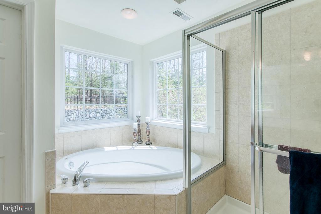 Huge soaker tub, Separate Shower - 3412 WOOLFENDEN CT, TRIANGLE