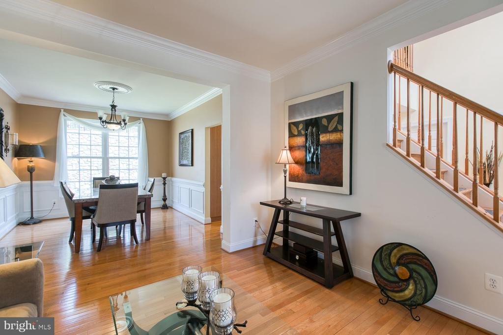 Open Floor Plan - 3412 WOOLFENDEN CT, TRIANGLE