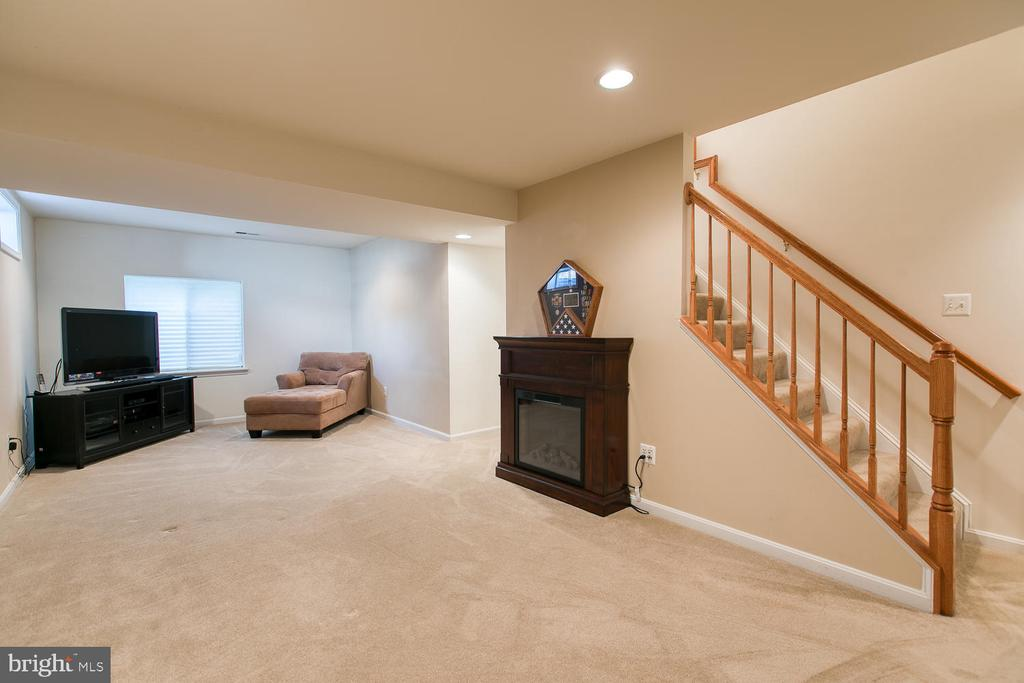 Fully Finished Basement - 3412 WOOLFENDEN CT, TRIANGLE