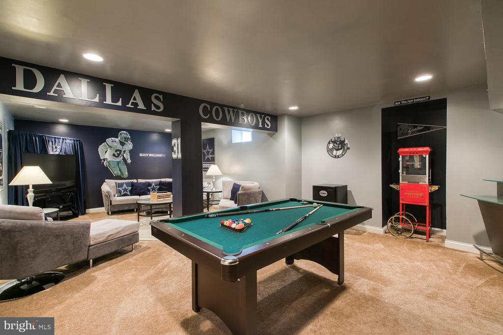Man Cave - 3412 WOOLFENDEN CT, TRIANGLE