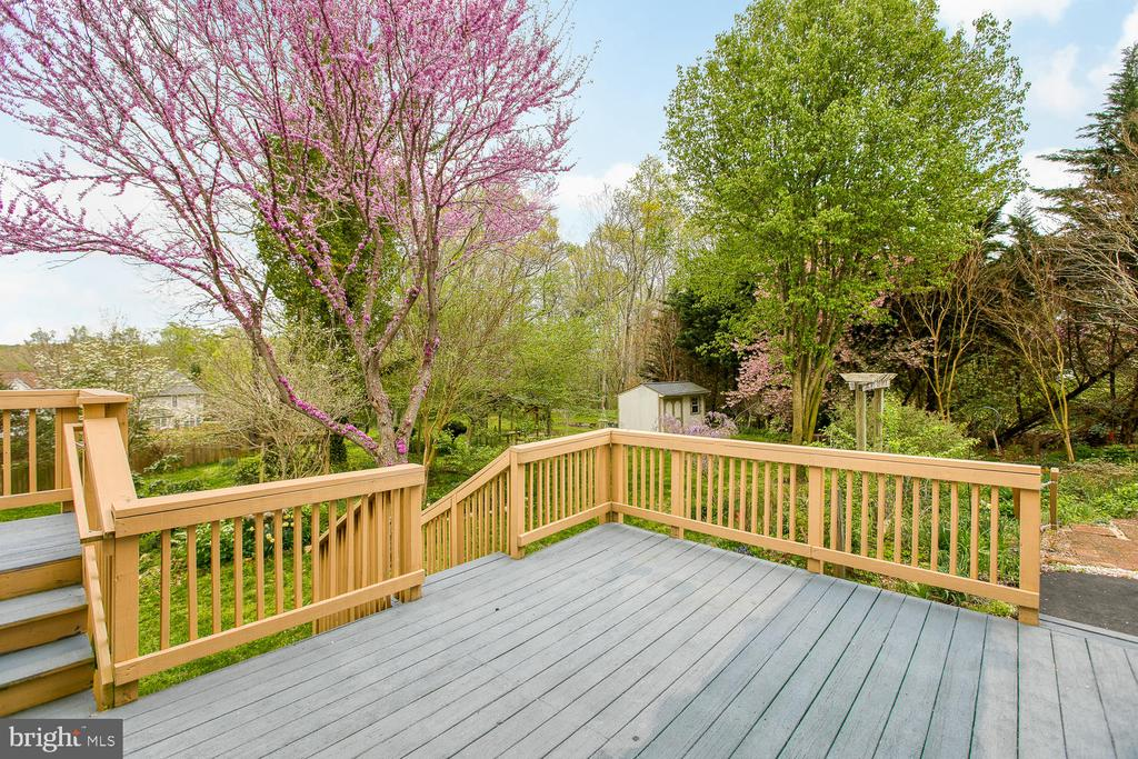 Deck and Sunroom - 15 CAMEO LN, FREDERICKSBURG