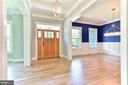 Welcoming Entry/Foyer - 304 NIBLICK DR SE, VIENNA