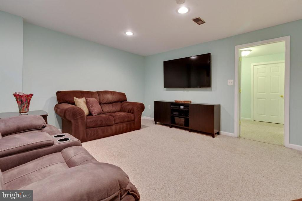Family room,  theater room...make it your own! - 13677 BARREN SPRINGS CT, CENTREVILLE
