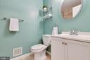 Upstairs hall bath is just lovely! - 13677 BARREN SPRINGS CT, CENTREVILLE