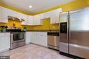The kitchen is updated, spacious and beautiful! - 13677 BARREN SPRINGS CT, CENTREVILLE
