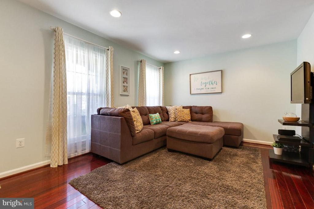 Living room is a great space to entertain guests! - 13677 BARREN SPRINGS CT, CENTREVILLE