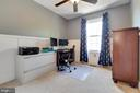3rd bedroom is roomy and has a ceiling fan! - 13677 BARREN SPRINGS CT, CENTREVILLE