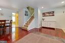 Gorgeous hardwood floors all through main level - 13677 BARREN SPRINGS CT, CENTREVILLE