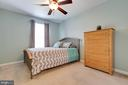 2nd bedroom is bright and cheerfully painted - 13677 BARREN SPRINGS CT, CENTREVILLE