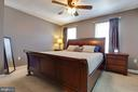 Big enough for a king bed! - 13677 BARREN SPRINGS CT, CENTREVILLE