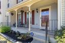 Isn't this the cutest front porch?  Yes! - 13677 BARREN SPRINGS CT, CENTREVILLE