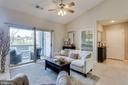 Den/bedroom/office space is off of the living room - 20281 BEECHWOOD TER #302, ASHBURN