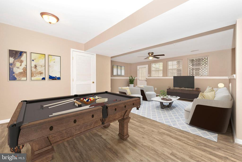 Lower Level Rec Room - 1656 WHEYFIELD DR, FREDERICK