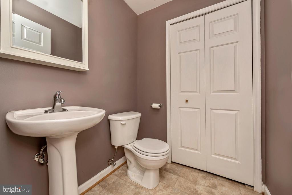 Lower Level Powder Room - 1656 WHEYFIELD DR, FREDERICK