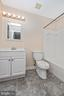 Upper Level Hall Full Bathroom - 1656 WHEYFIELD DR, FREDERICK