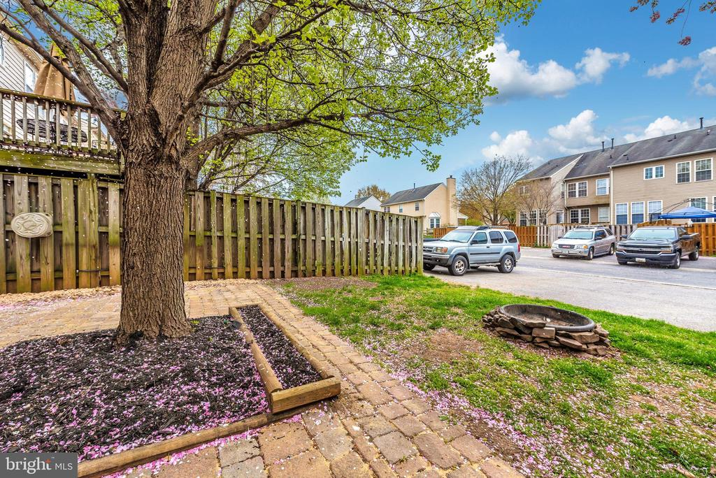 Backyard/View of Rear Parking - 1656 WHEYFIELD DR, FREDERICK