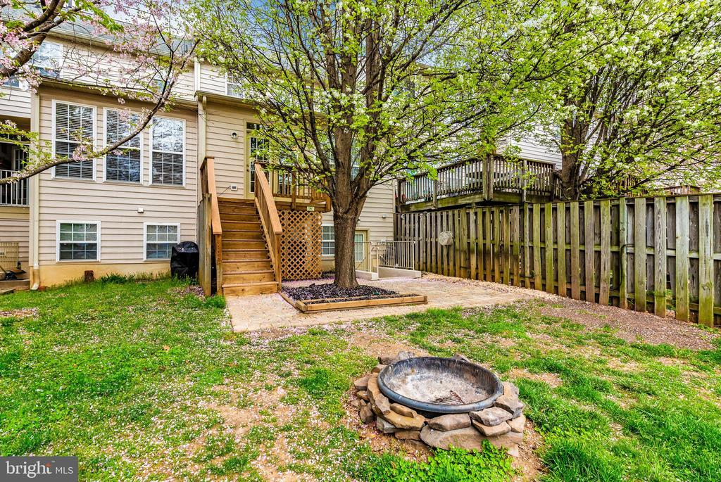 Backyard - 1656 WHEYFIELD DR, FREDERICK