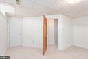 Basement Room - 118 RINGGOLD RD, FREDERICKSBURG
