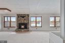 Basement Rec Room - 118 RINGGOLD RD, FREDERICKSBURG