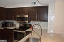 Stainless appliances in this huge kitchen - 2181 JAMIESON AVE #607, ALEXANDRIA