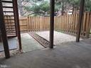 Fenced backyard - 1309 TEMPLETON PL, ROCKVILLE
