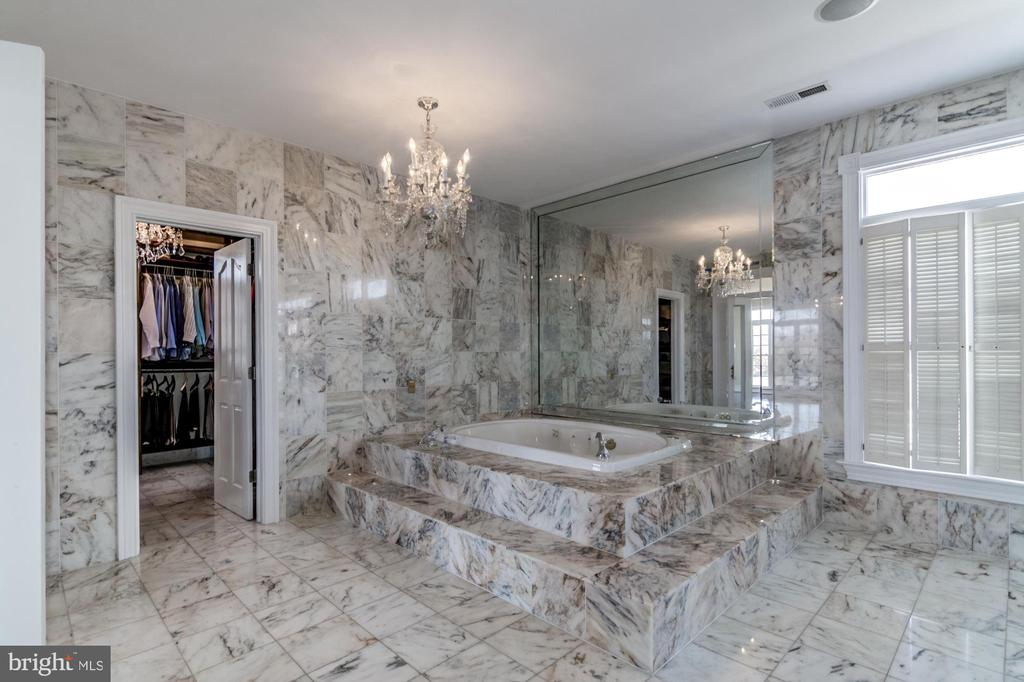Marble bath - 4 POINTERS RIDGE CT, FREDERICKSBURG