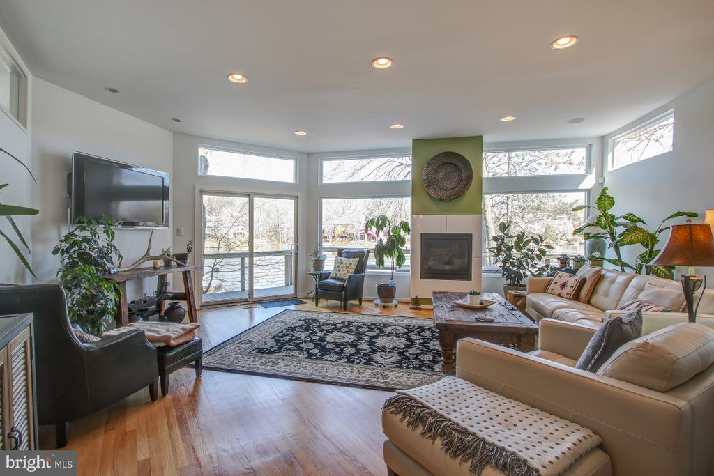 Great Room with a Great View! - 2258 COMPASS POINT LN, RESTON
