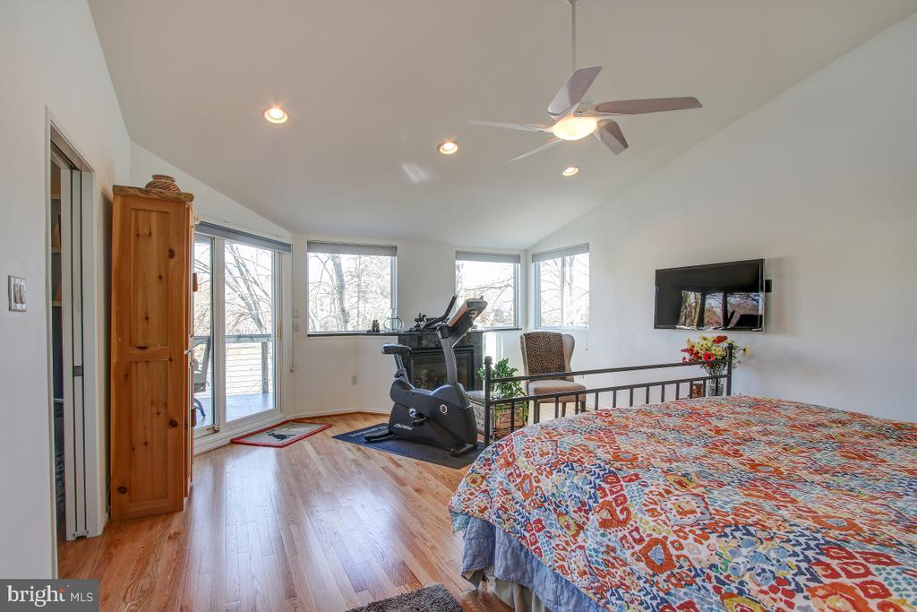 Stunning Master Suite with Fireplace! - 2258 COMPASS POINT LN, RESTON