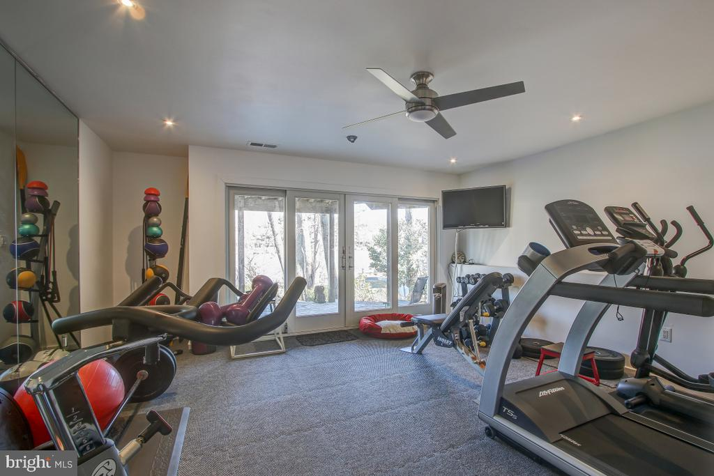 Its great to exercise overlooking the lake! - 2258 COMPASS POINT LN, RESTON