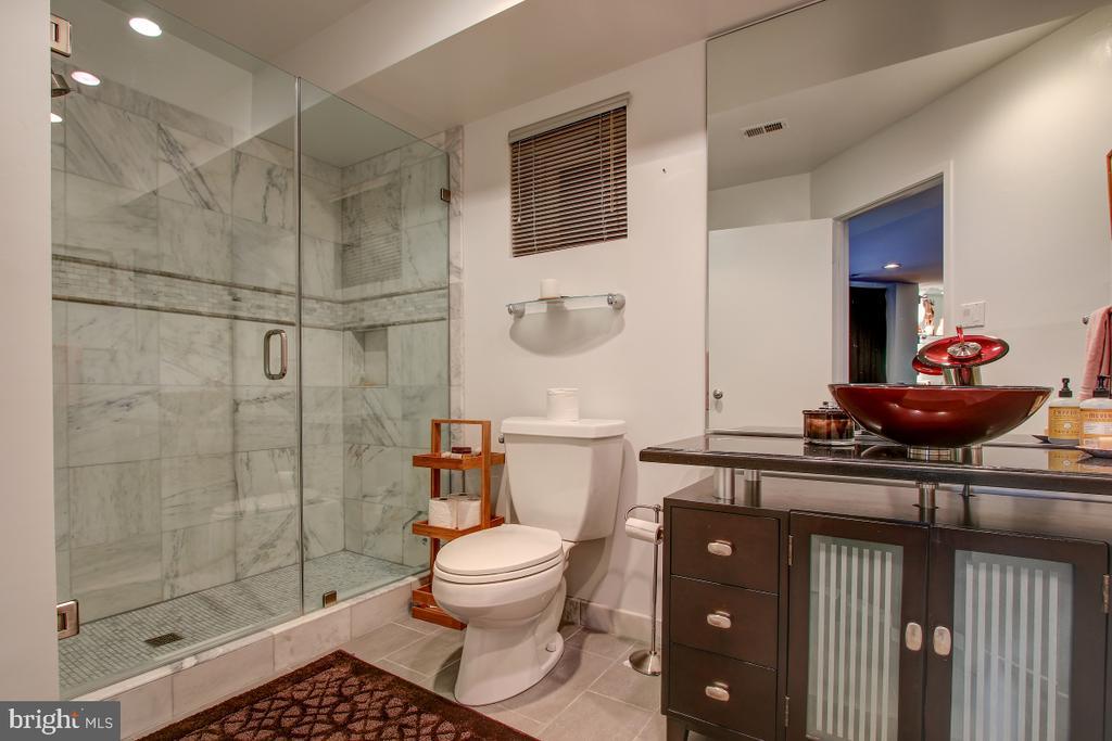 Lower Level Full Bath - 2258 COMPASS POINT LN, RESTON