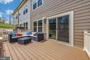 Deck for entertaining or relaxing - 9163 LANDON HOUSE LN, FREDERICK