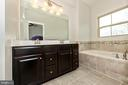 Relaxing bath - 9163 LANDON HOUSE LN, FREDERICK