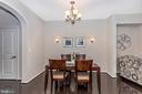 Dining room - 2921 MILL ISLAND PKWY, FREDERICK
