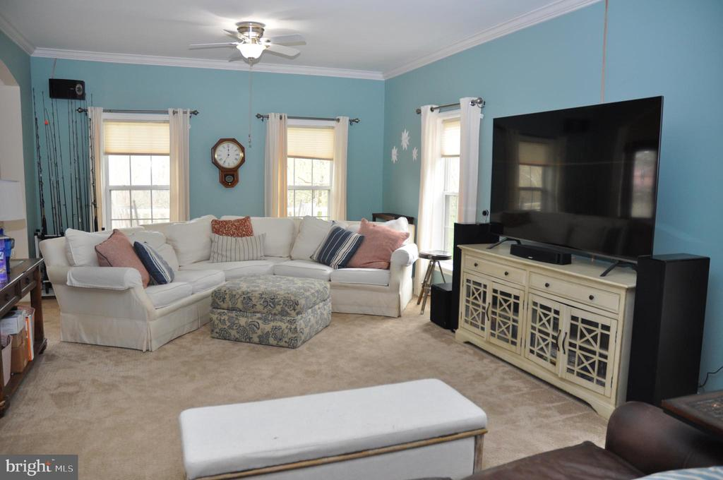 Spacious family room - 38834 LIME KILN RD, LEESBURG