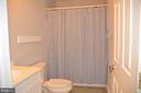 Updated full upstairs bath - 38834 LIME KILN RD, LEESBURG