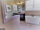 Owner's Bath - WILD WILLOW WAY- WATERFORD, LEESBURG