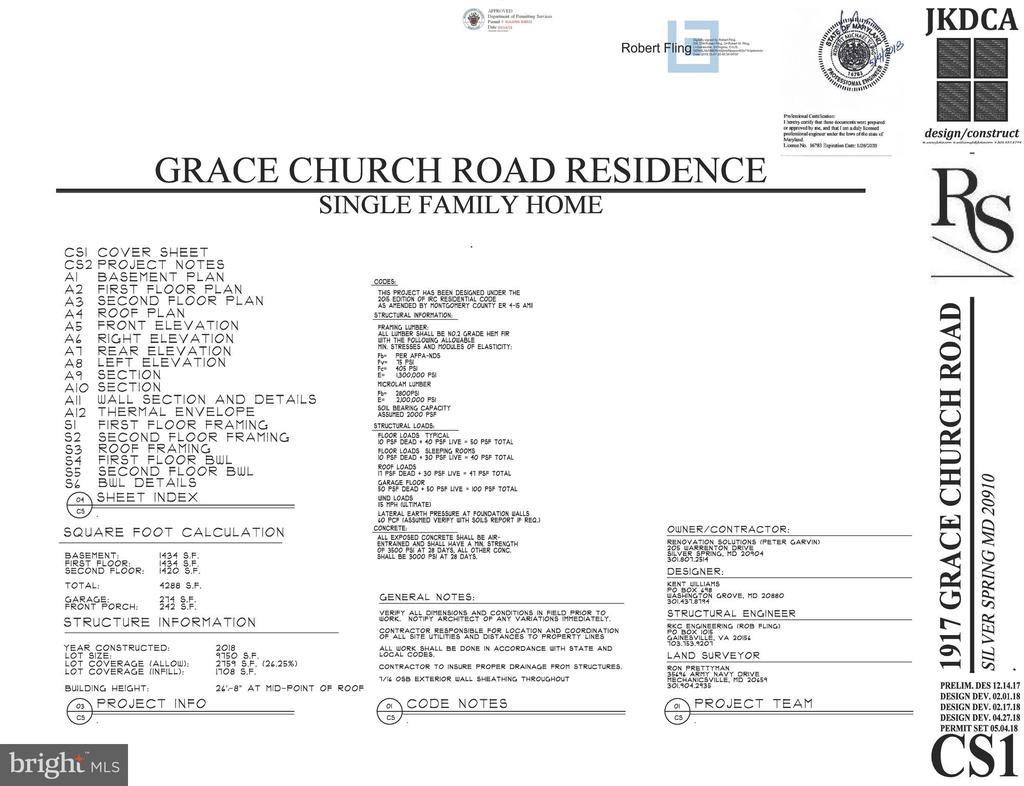 - 1917 GRACE CHURCH RD, SILVER SPRING