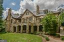 Impressive Rear Elevation - 6126 FRANKLIN PARK RD, MCLEAN