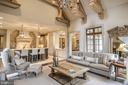 Niermann Weeks Chandelier in Family Room - 6126 FRANKLIN PARK RD, MCLEAN
